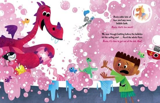 Bubble Bath Scene (Good Night Book) (4)