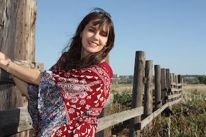 Jolene author photo fence small
