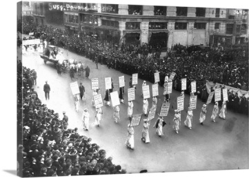 suffragette parade nyc 1913