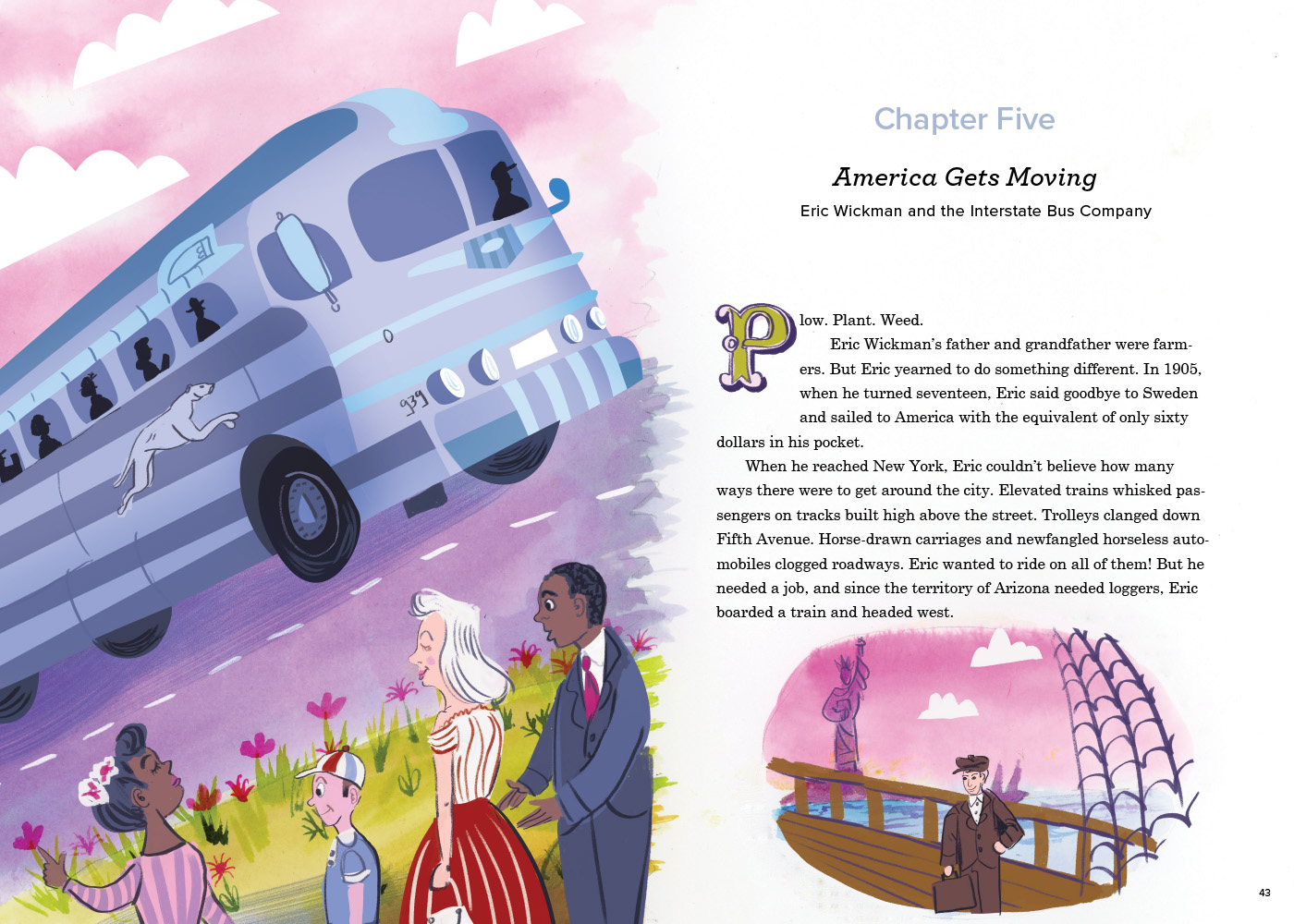 Chapter 5 America Gets Moving Bus Eric Wickman
