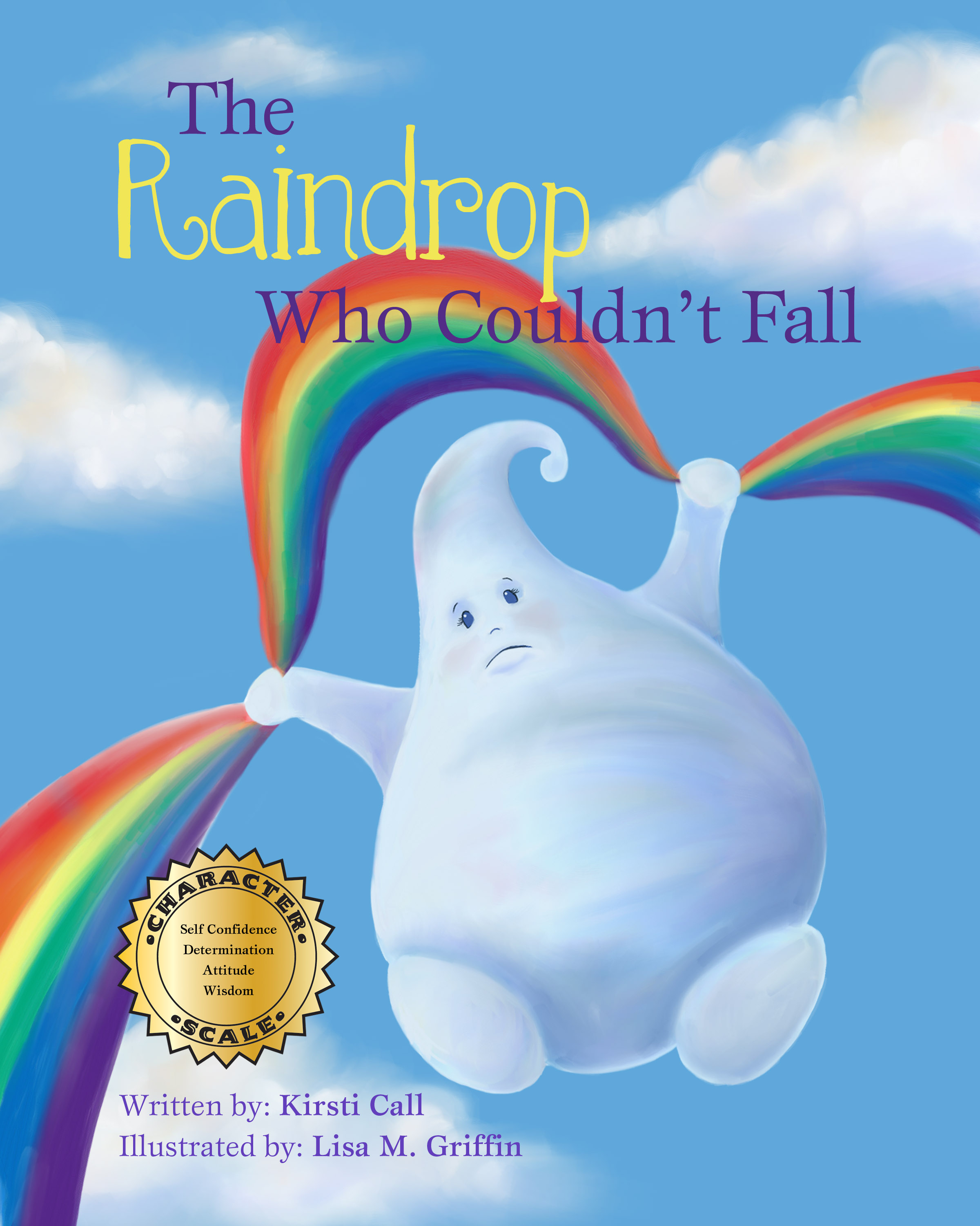 The Raindrop Who Couldn't Fall COVER