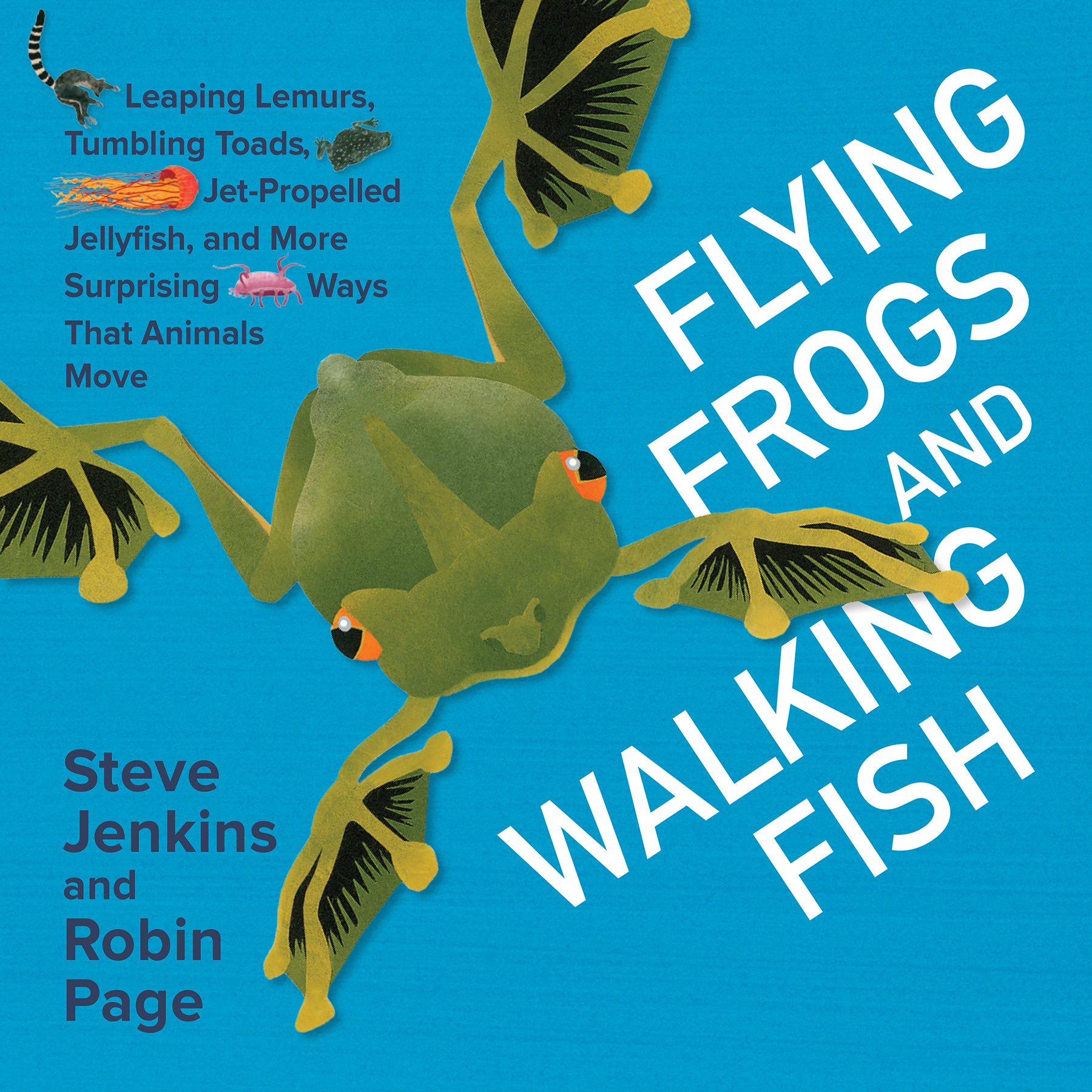 frogs fish