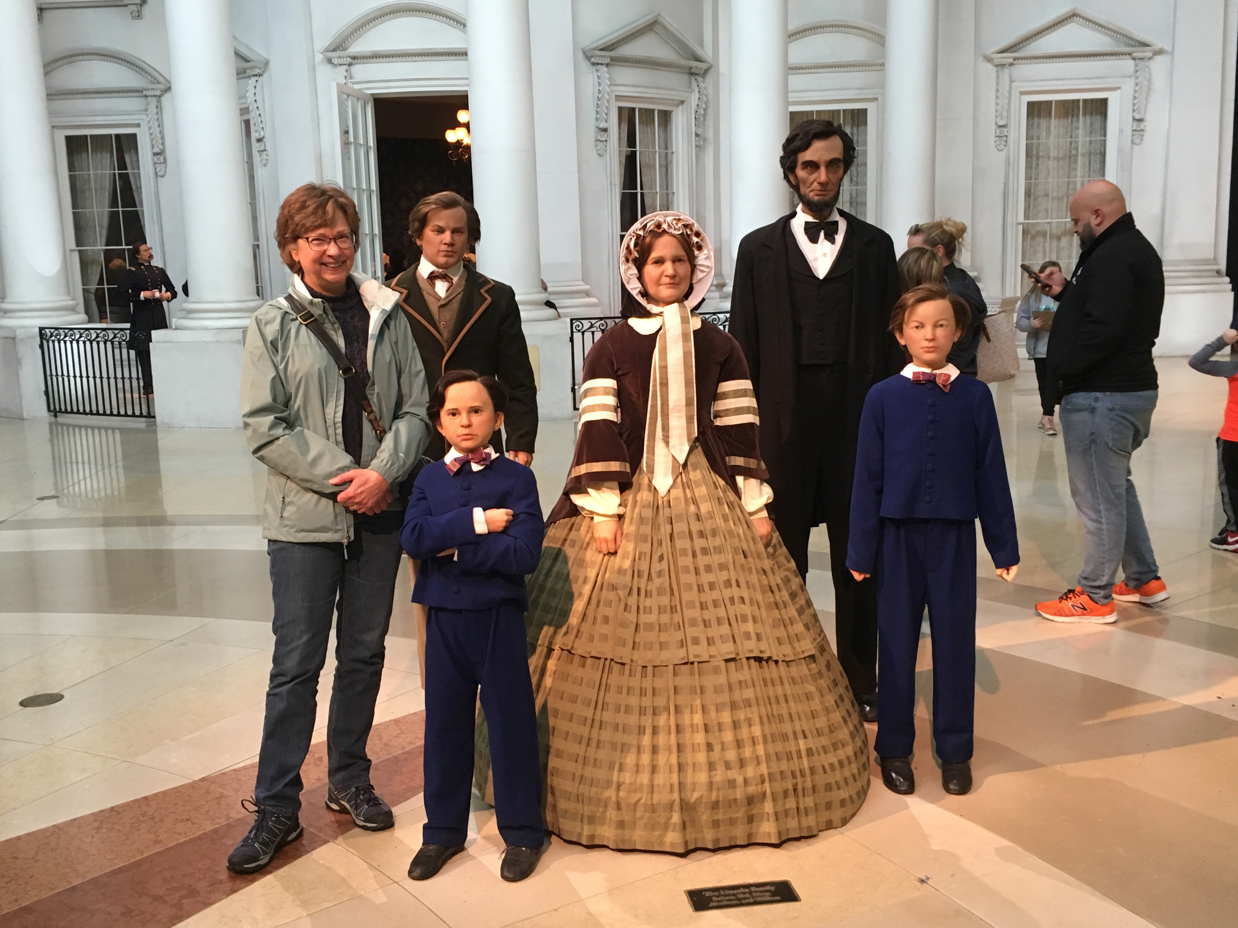 Hanging with the Lincolns